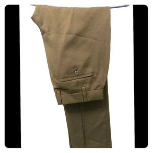 Brown Male Dress Pants